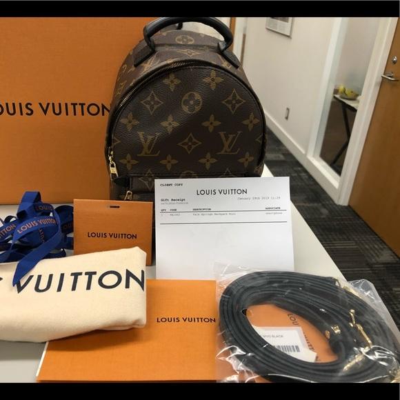 Louis Vuitton Handbags - BNIB LOUIS VUITTON PALM SPRINGS MINI MONOGRAM
